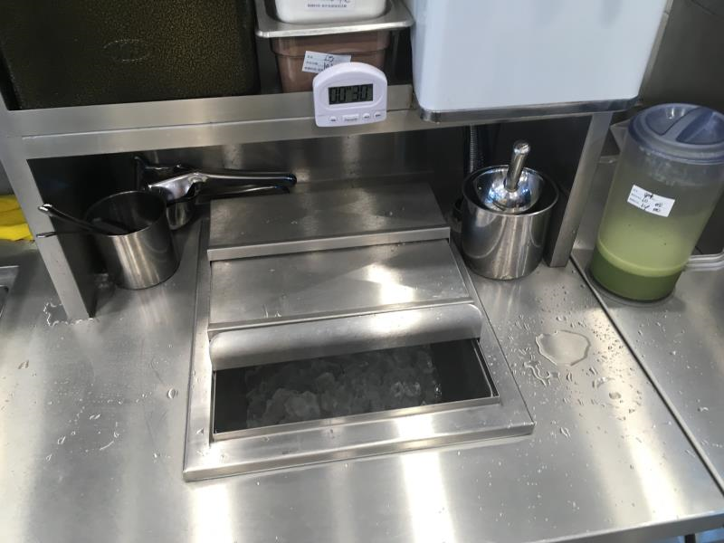 商用厨房不锈钢储冰槽订制